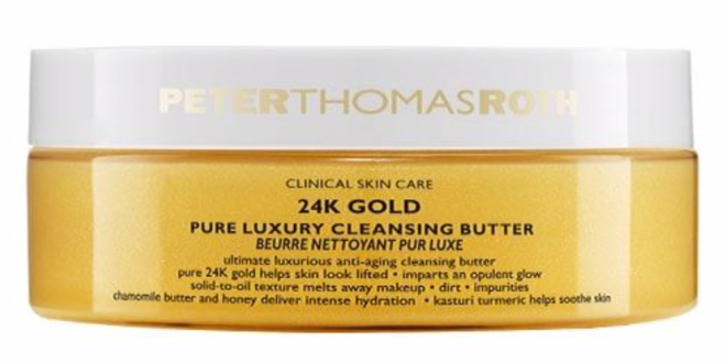 24K Gold Cleansing Butter Pure Luxury Gentle Cleanser