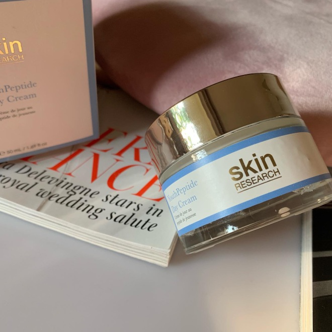 skin research YouthPeptide day cream