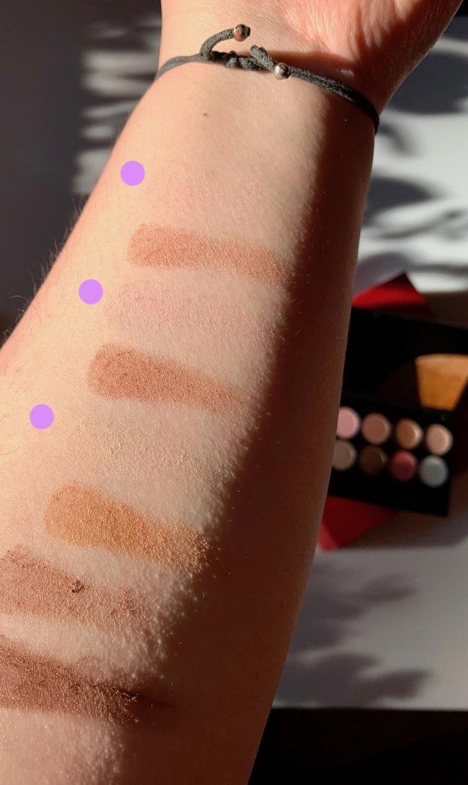 cyo cosmetics rainbow warrior eyeshadow