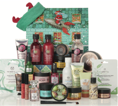 body shop advent calendar 2019
