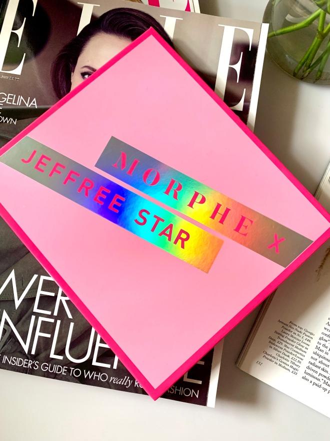 Jeffree Star Morphe Artistry palette