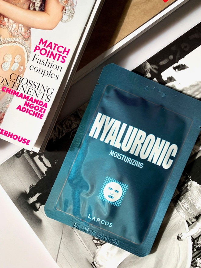 lapses sheet mask hyaluronic acid from revolve