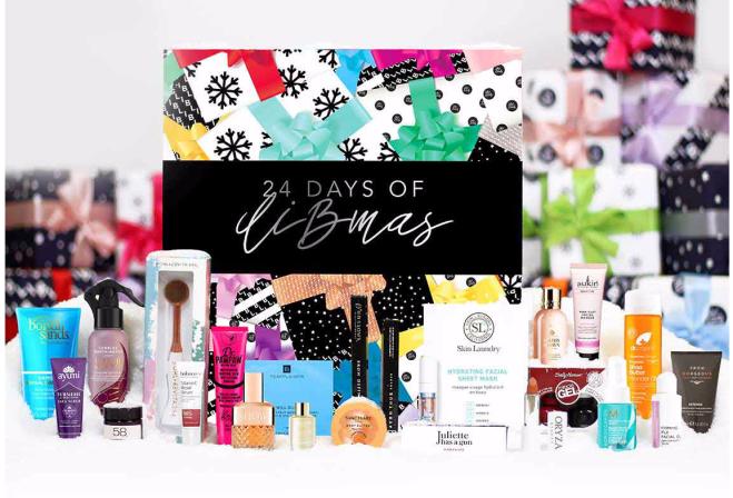 beauty advent calendar 2019 products