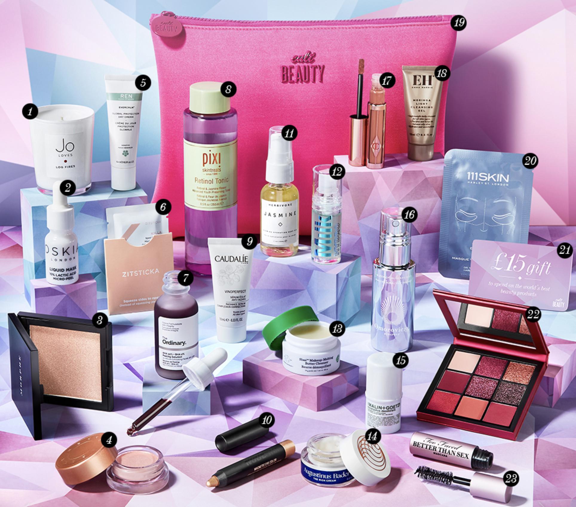 cult beauty goody bag 2019 g
