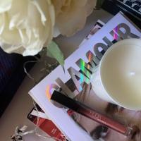 Huda Beauty Demi Matte Cream Lipstick in 'Mogul'