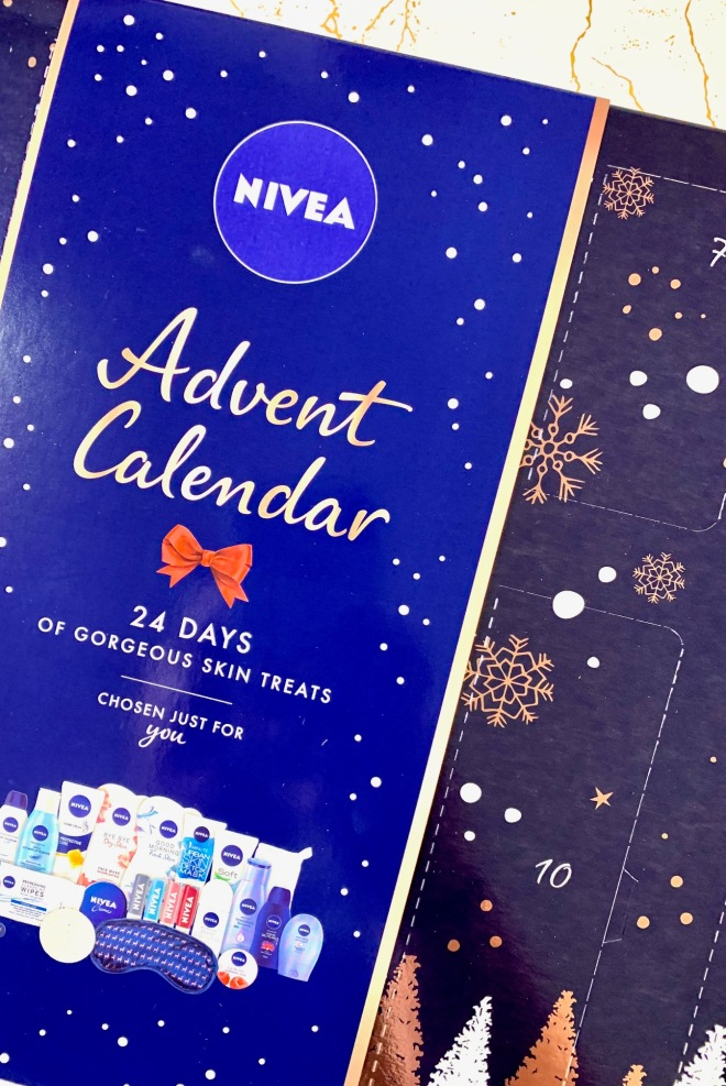 beauty advent calendar nivea