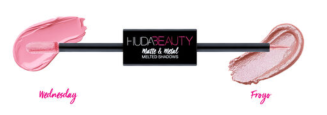Huda Beauty Matte and Metal Melted Shadow