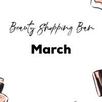 Third month on a beauty budget
