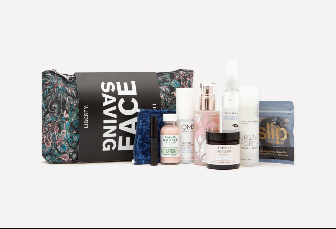 Liberty of London Beauty Saving Face Kit