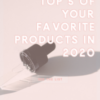 Top 5 of Your Favorite Products