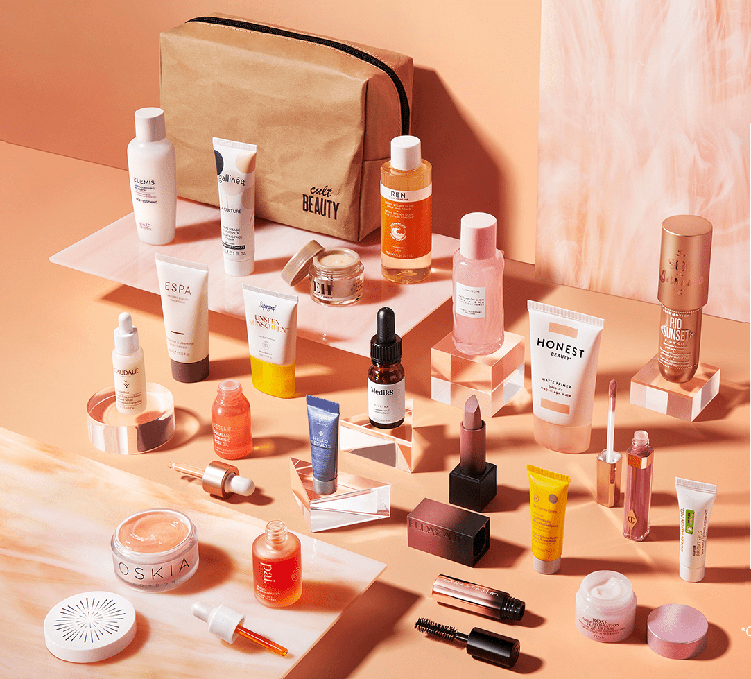 cult beauty tried and tested beauty gift with purchase spring 2021