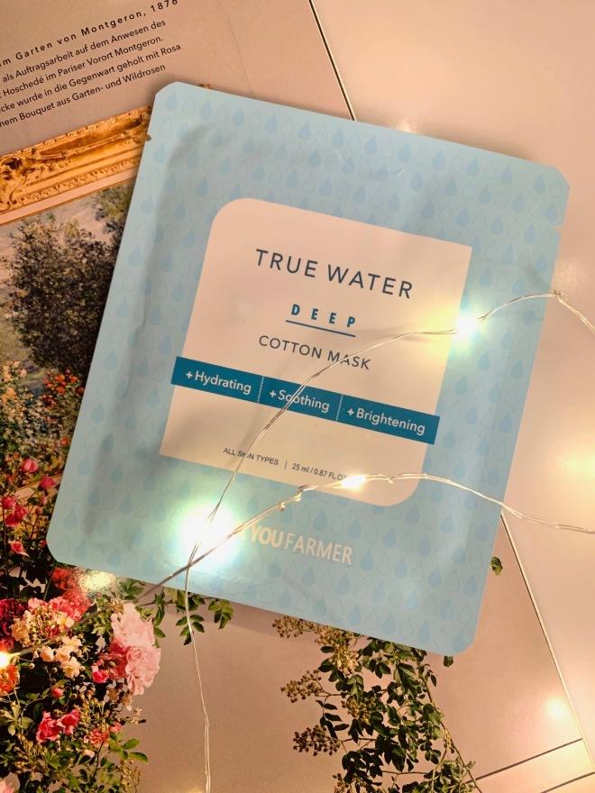 thank you farmer true water sheet mask