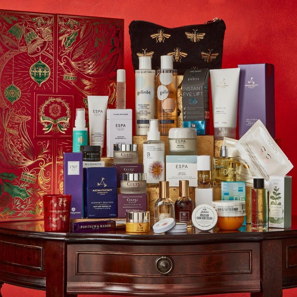 fortnum and mason beauty advent calendar 2021 contents