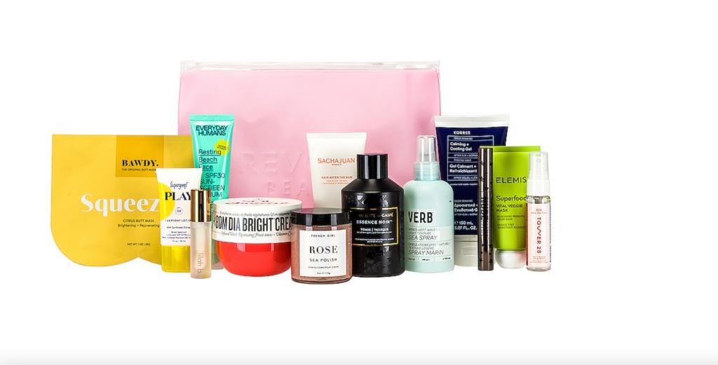 revolve summer beauty box