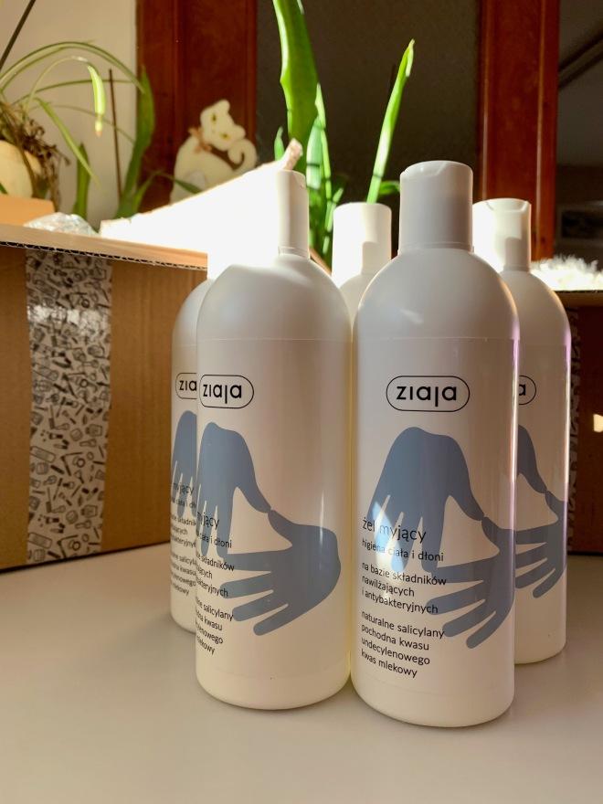 ziaja hand and body gel parfimo
