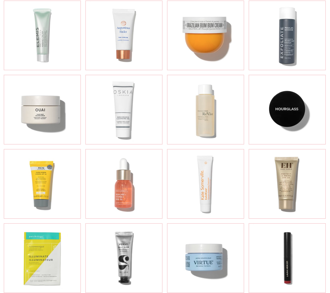 space nk autumn discovery beauty gift 2021 contents part 1