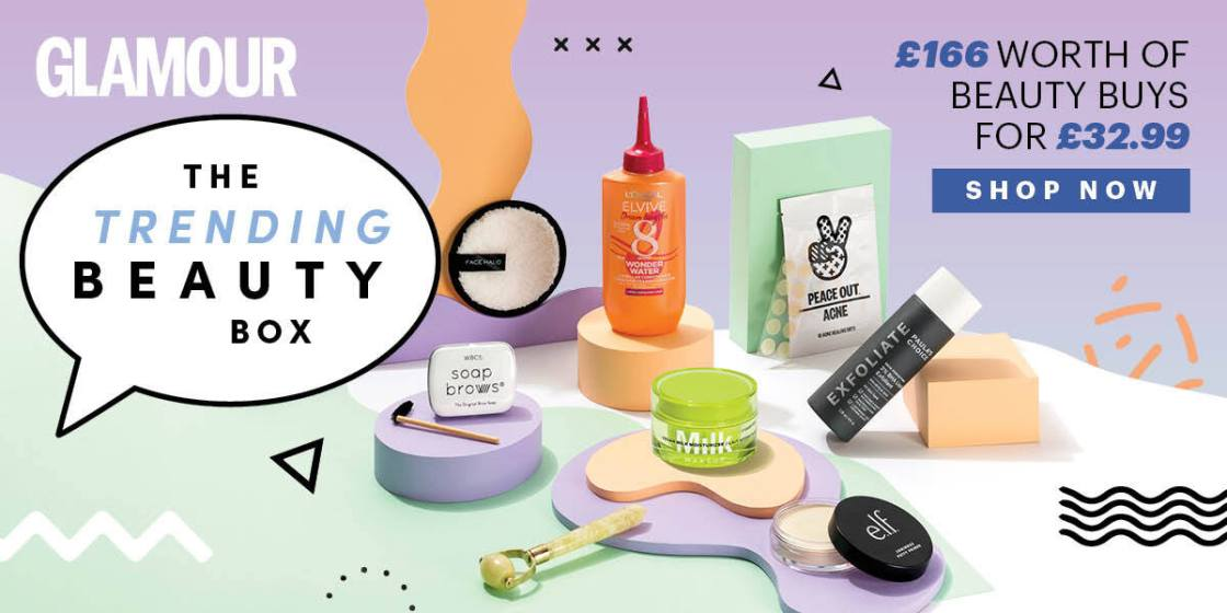glamour beauty box trending beauty